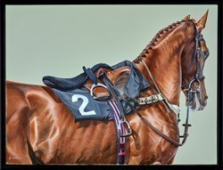Racehorse by Gina Hawkshaw -  sized 24x18 inches. Available from Whitewall Galleries